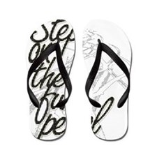 Step on the Fun Pedal Flip Flops