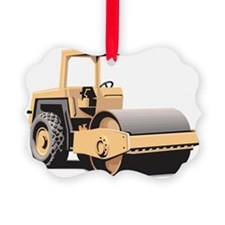 Paving Machine Ornament