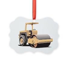 Paving Machine Picture Ornament