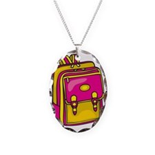 Girl's Backpack Necklace