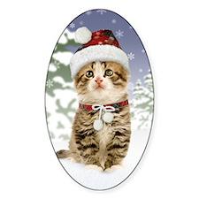 Snowy Kitten Decal