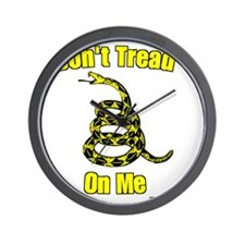 gadsden dark Wall Clock