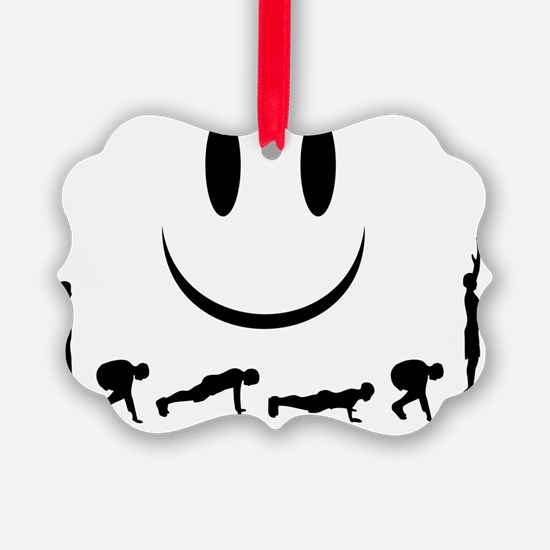 Burpees Ornament