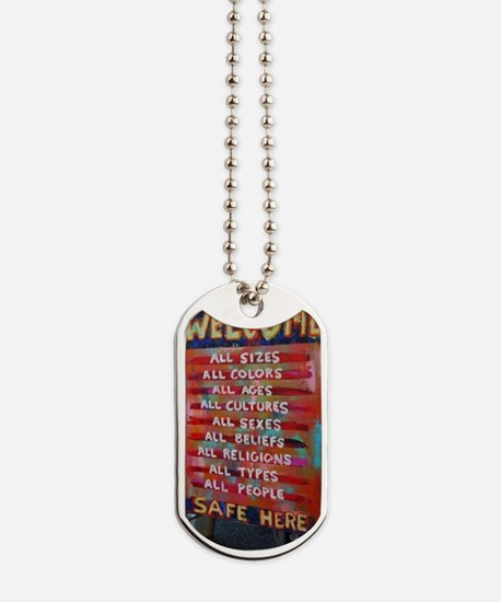 Welcome! Dog Tags