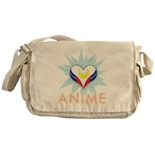 Love Anime Messenger Bag