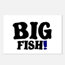 BIG FISH! Postcards (Package of 8)