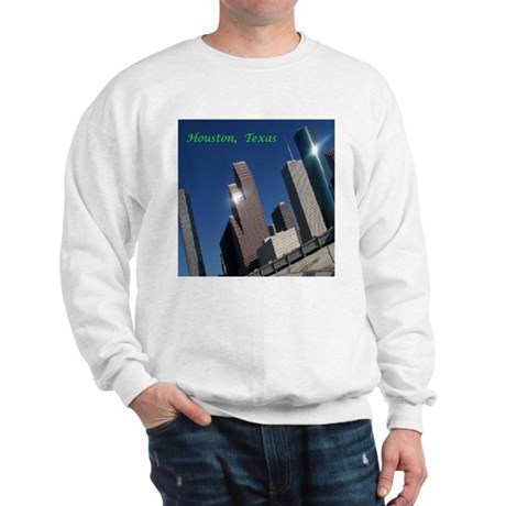 HOUSTON TEXAS SKYSCRAPERS Sweatshirt