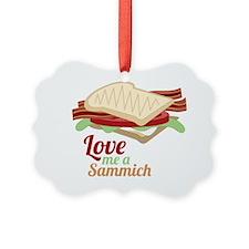 Love Me a Sammich Ornament