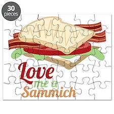Love Me a Sammich Puzzle