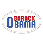 Obama for America Oval Sticker