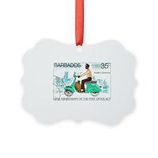 Vintage 1976 Barbados Postman Pos Ornament