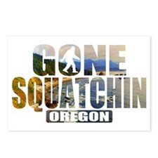 Gone Squatchin *Oregon -  Postcards (Package of 8)