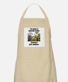 BREATHE EASIER QUIT SMOKING BBQ Apron