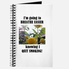 BREATHE EASIER QUIT SMOKING Journal
