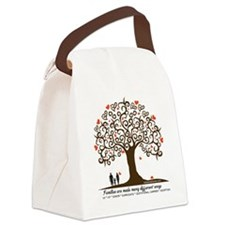 Infertility Family Tree Canvas Lunch Bag