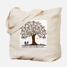 Infertility Family Tree Tote Bag