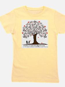 Infertility Family Tree Girl's Tee