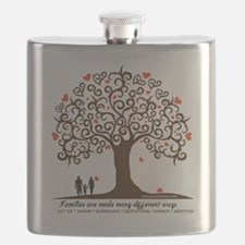 Infertility Family Tree Flask