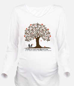 Infertility Family T Long Sleeve Maternity T-Shirt