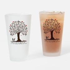Infertility Family Tree Drinking Glass