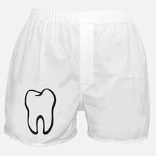 Tooth / Zahn / Dent / Diente / Dente  Boxer Shorts