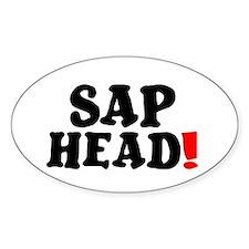 SAP HEAD! Decal