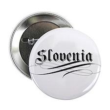 Slovenia Gothic Button