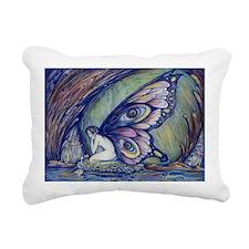 Blue Fairy Rectangular Canvas Pillow