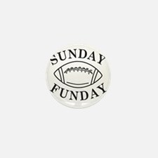 Sunday Funday Mini Button