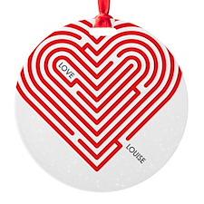 I Love Louise Ornament