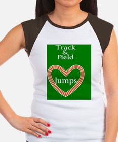 Track and Field Love Ju Women's Cap Sleeve T-Shirt