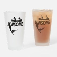 Jawsome Drinking Glass