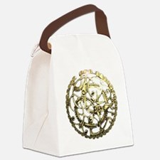 Anglo-Viking Brooch Canvas Lunch Bag