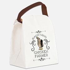 Backyard Chicken Farmer Canvas Lunch Bag