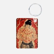Vintage Tattoo Man Keychains