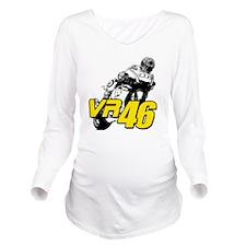 VR46bike4 Long Sleeve Maternity T-Shirt