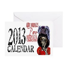 2013 Abby Normals Calendar Cover Greeting Card