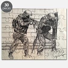 Police Tactics Puzzle