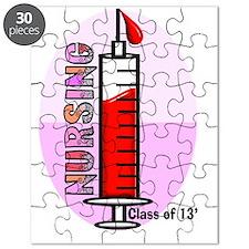 Giant syringe pinks Puzzle