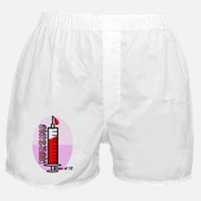 Giant syringe pinks Boxer Shorts