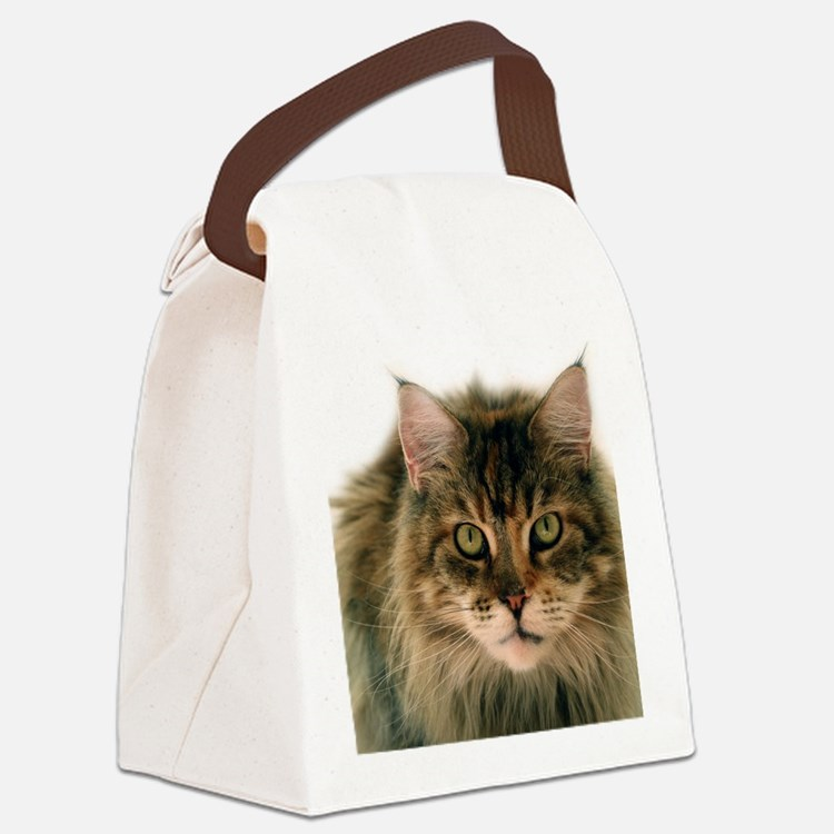 Maine Coon Canvas Lunch Bag