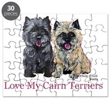 Love my Cairn Terriers Puzzle