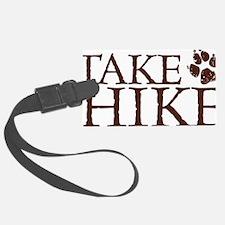 Take a Hike Paw Luggage Tag