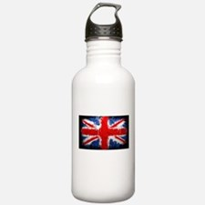 British Union Jack Abstract by Jennifer Keefe Wate