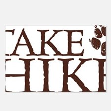 Take a Hike Paw Postcards (Package of 8)
