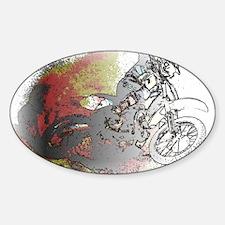 The Real Fun Begins Dirt Bike Motoc Decal