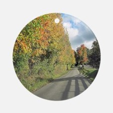 Autumn colors Round Ornament