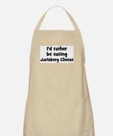 Rather be eating Jarlsberg C BBQ Apron