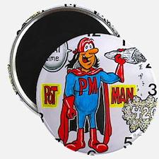 time for potman Magnet