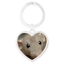 Isabelle Heart Keychain